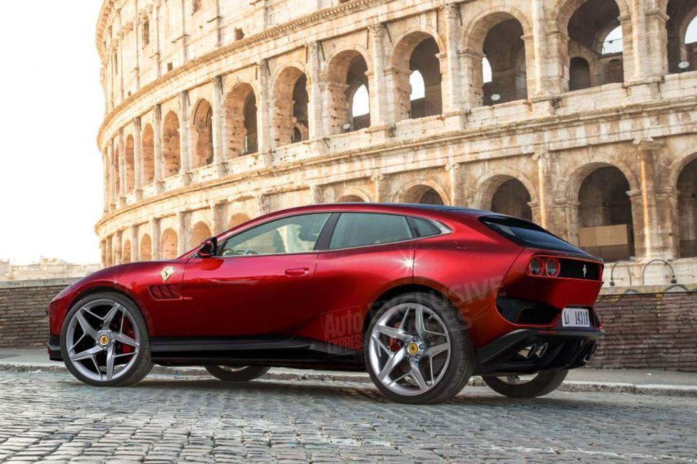 Ferrari Purosangue SUV-rendering-2