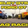 Ford GT vs 2020 Mustang Shelby GT500 drag race