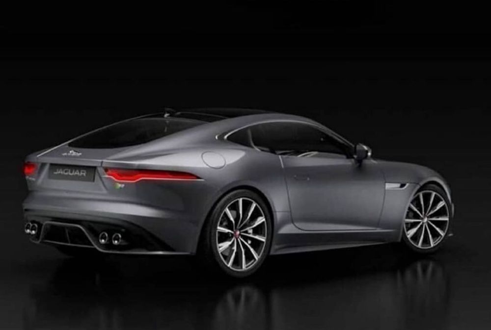 Jaguar F-Type facelift-coupe-convertible-leaked-images-2