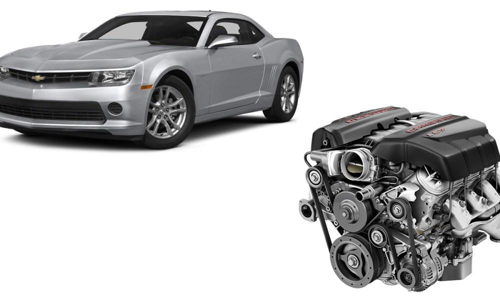 Used Car Engines-Camaro