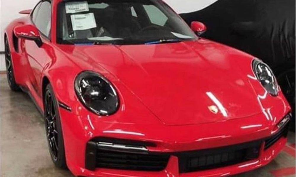 2021 Porsche 911 Turbo S 992 Red-Leaked-image-1