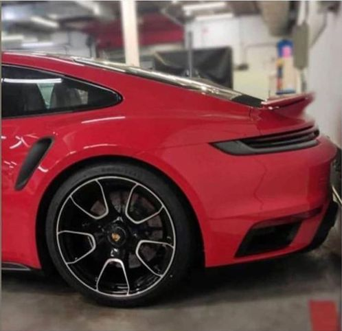2021 Porsche 911 Turbo S 992 Red-Leaked-image-3