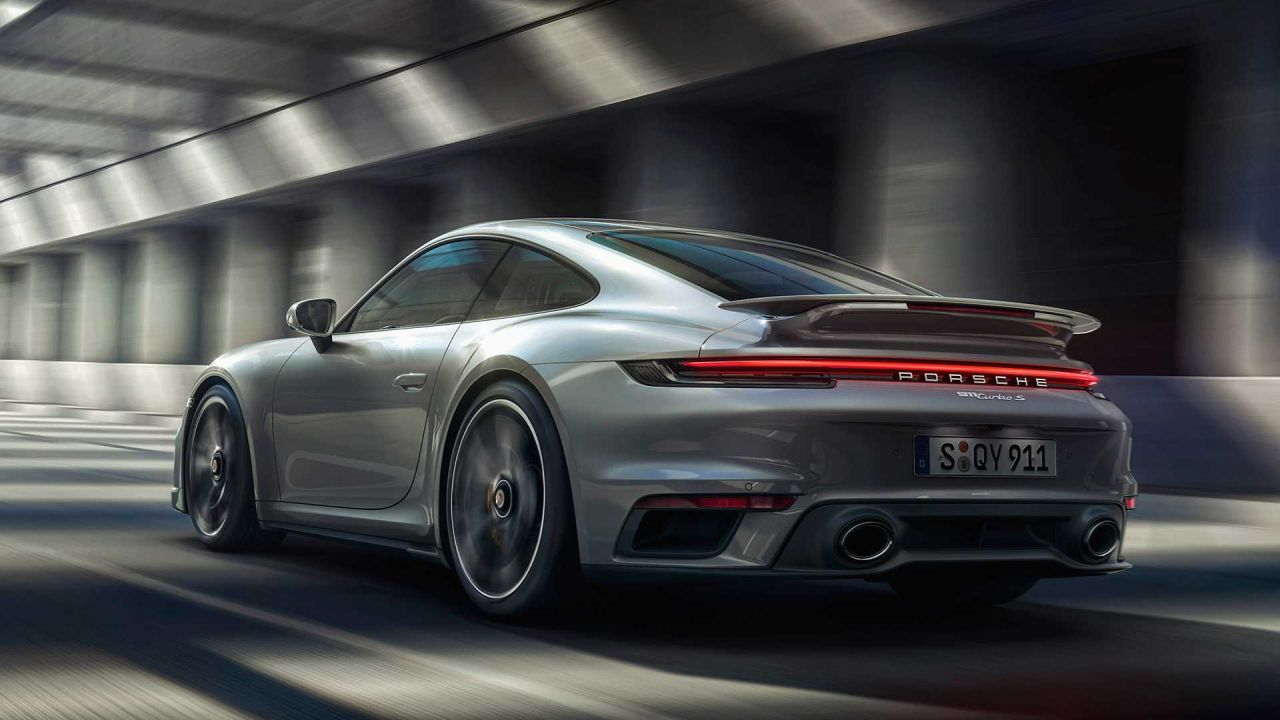 2021 porsche 911 turbo s is much faster
