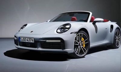 2021 Porsche 911 Turbo Cabriolet-Leaked