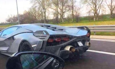 Lamborghini Sian-spy-shots-1