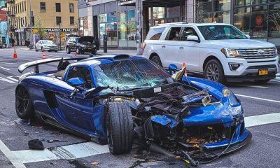 Gemballa Mirage GT NYC crash-1