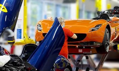Ferrari Monza assembly line-1