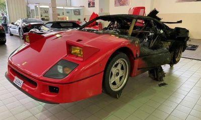 Ferrari F40 Monte Carlo-Fire-Restoration-1