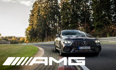 Mercedes-AMG GT 4-Door Coupe-Nurburgring lap time