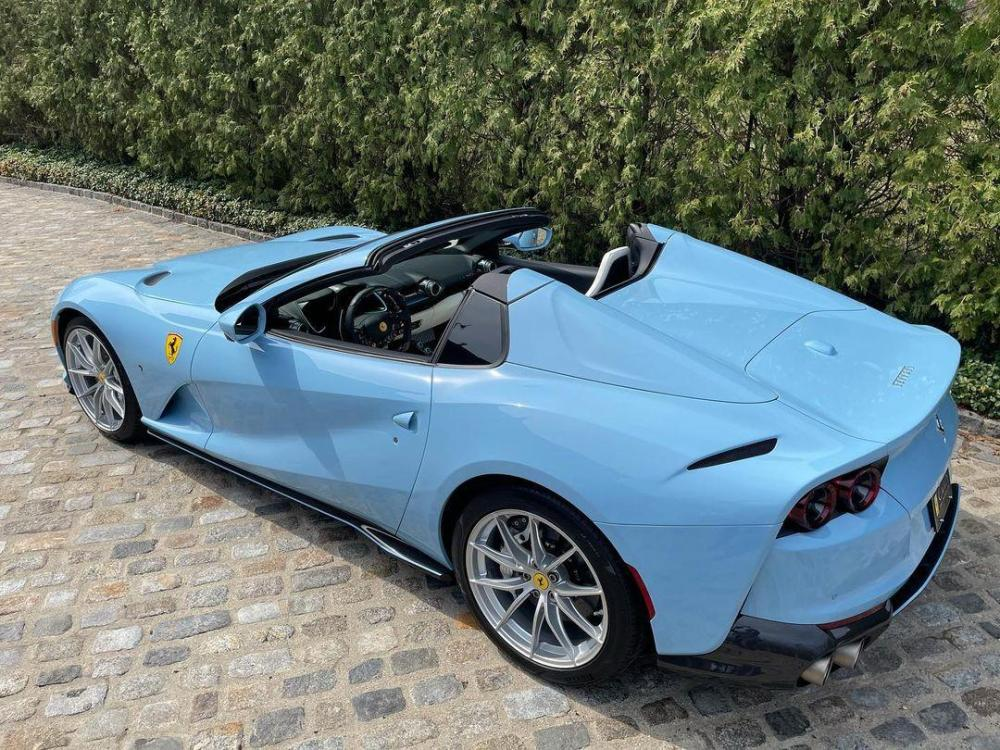 Baby Blue Ferrari 812 GTS-Tailormade-US-2