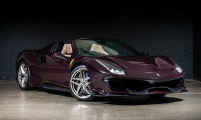Ferrari 488 Pista Spider-Purple-Tailormade-2