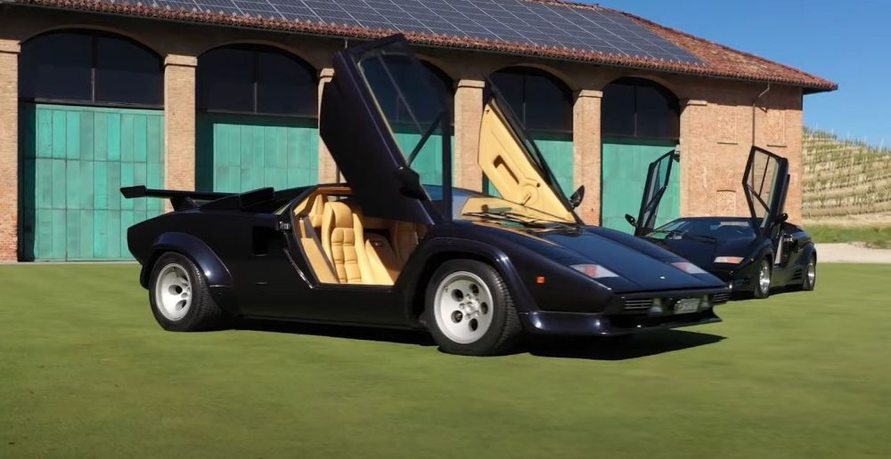 Lamborghini Countach Homage-50 year anniversary