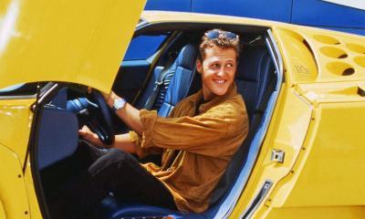 Michael Schumacher-Bugatti EB110SS
