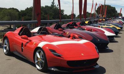 Ferrari Monza rally Pebble Beach