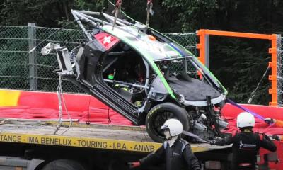 Lamborghini Huracan GT3 Evo-Spa-Crash