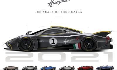 Pagani Huayra 10-year anniversary