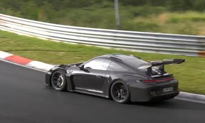 2022 Porsche 911 GT3 RS-Nurburgring