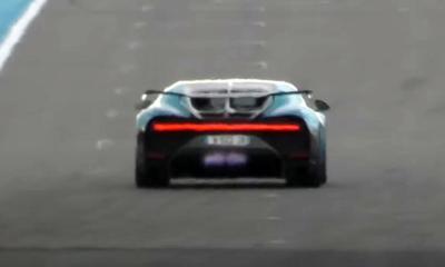 Bugatti Chiron Pur Sport-Paul Ricard-Flames