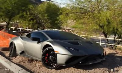 Lamborghini Huracan STO-crash-Las Vegas