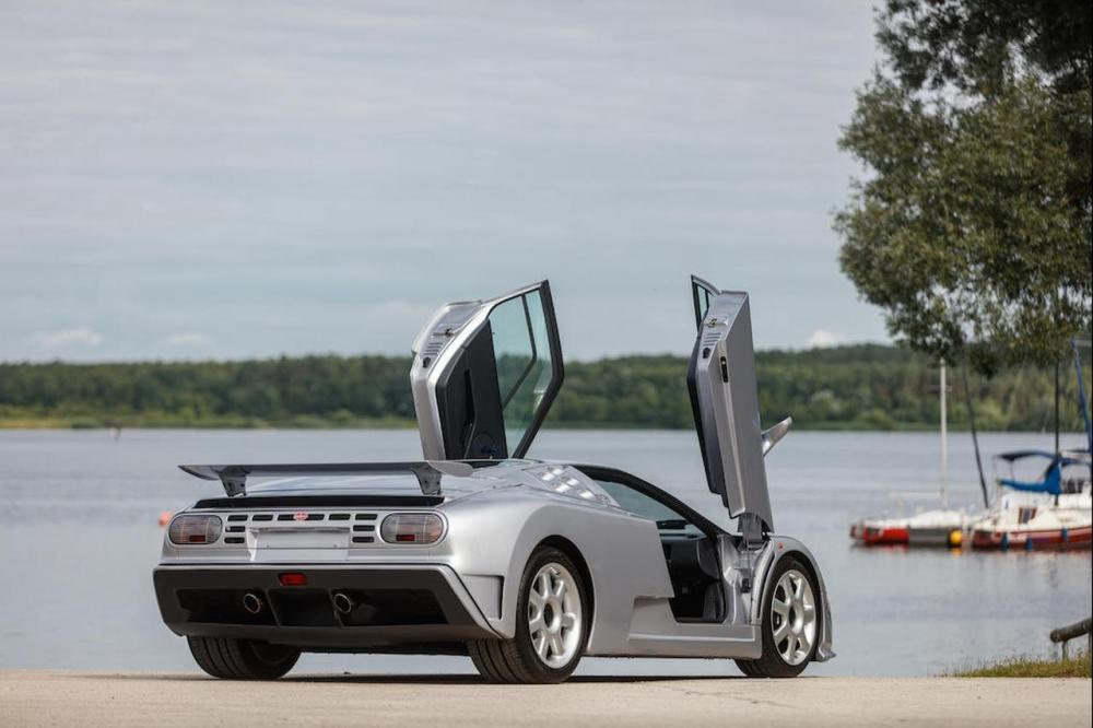 Bugatti EB110 SS Bonhams Auction 2021-2