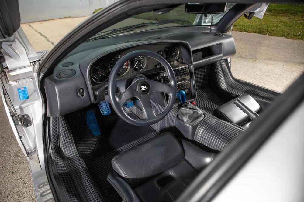 Bugatti EB110 SS Bonhams Auction 2021-4