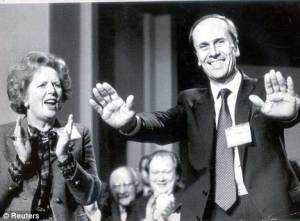 Norman Tebbit and Margaret Thatcher