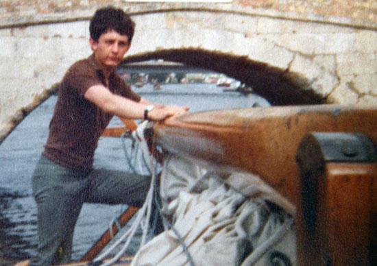 Disparate days: Cap'n Jon on the Norfolk Broads c.1980