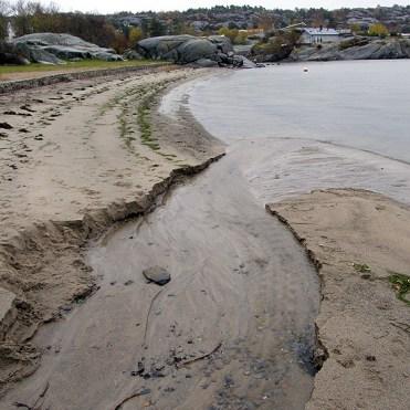 Sand stream estuary 1