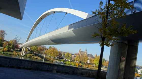Maastricht: The Hoge Brug from Wyck 1