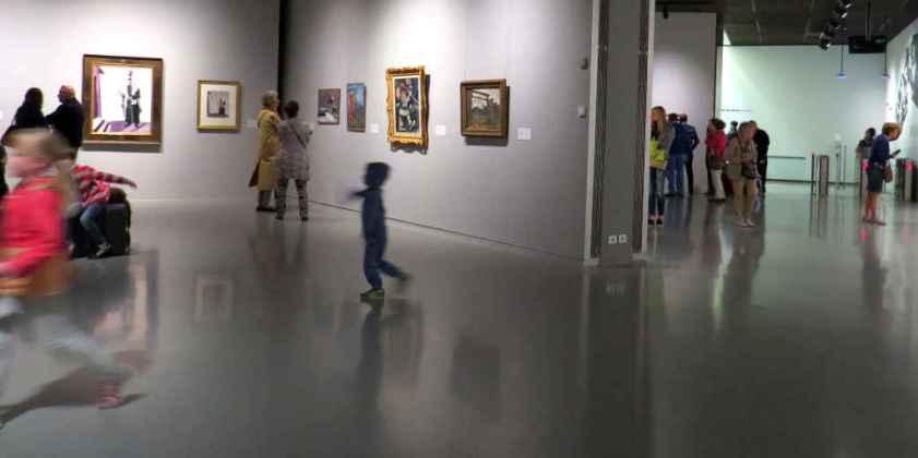 Chagall exhibition the public