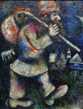 Chagall: Wandering Jew