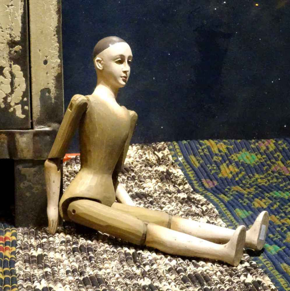 Seated Marionette