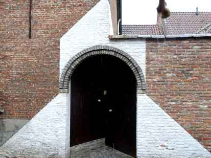 Various diagonals in the Small Beguinage, Mechelen