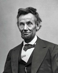 Lincoln in February 1865