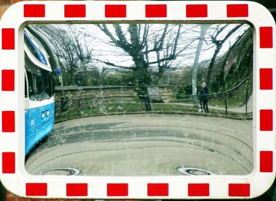 Stampgatan reflected