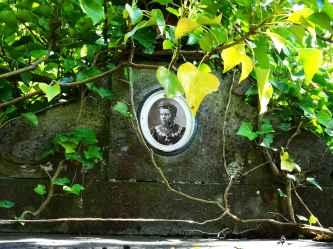 Grave portrait
