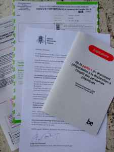 Taxes: Belgian tax papers
