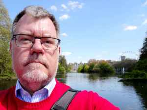 London green: Selfie in St James's Park