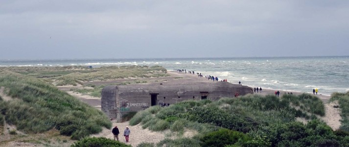 Grenen and tourists