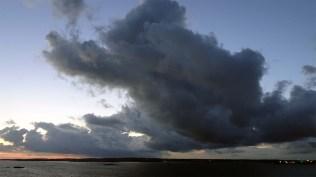 Rain clouds over Gothenborg