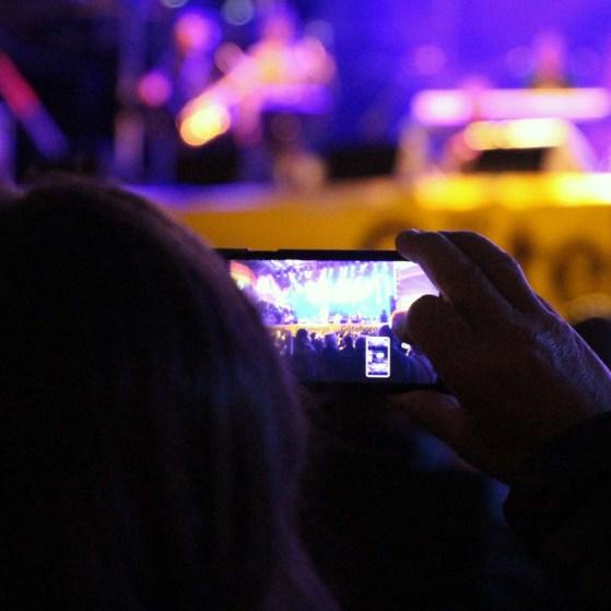 Through a smartphone lense