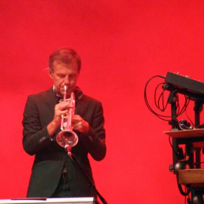 Stefan Sporsén on trumpet