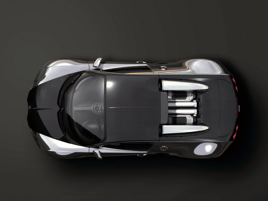 hight resolution of 2008 bugatti 164 veyron pur sang top view