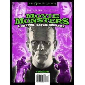 RUE MORGUE LIBRARY #12: MOVIE MONSTERS