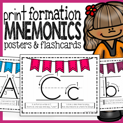 Print Formation mnemonics posters and flashcards