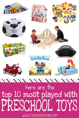 Here Are the Top 10 Most Played with Preschool Toys