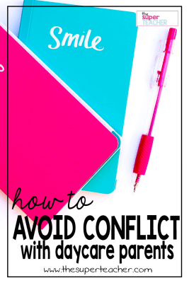 How to Avoid Conflict with Daycare Parents