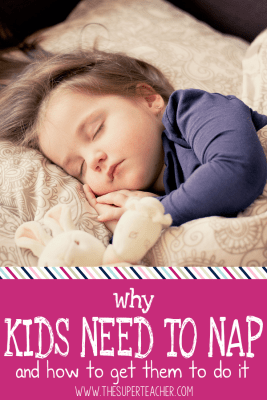 Why Your Kids Need to Nap – And How to Get Them To Do It