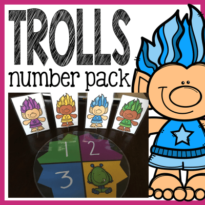 https://www.teacherspayteachers.com/Product/Trolls-Number-Pack-Counting-Worksheets-Math-Centers-Flash-Cards-and-More-3180019