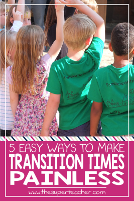 5 Easy Ways to Make Preschool Transition Times Painless